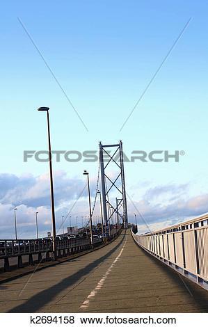 Pictures of Forth Road Bridge Edinburgh k2694158.