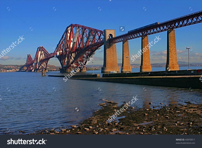 Forth Road Bridge, Scotland Stock Photo 43970911 : Shutterstock.