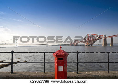 Pictures of Scotland, Edinburgh, Queensferry, The Firth of the.