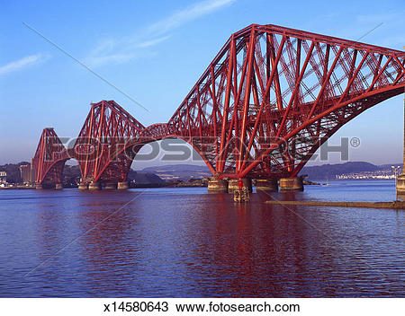 Stock Photo of The Forth Rail Bridge x14580643.
