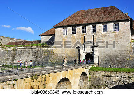 "Stock Images of ""Besancon Citadel, one of the Vauban."