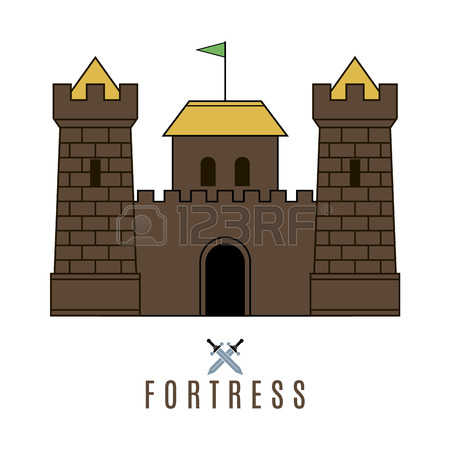 1,089 Fortifications Stock Vector Illustration And Royalty Free.