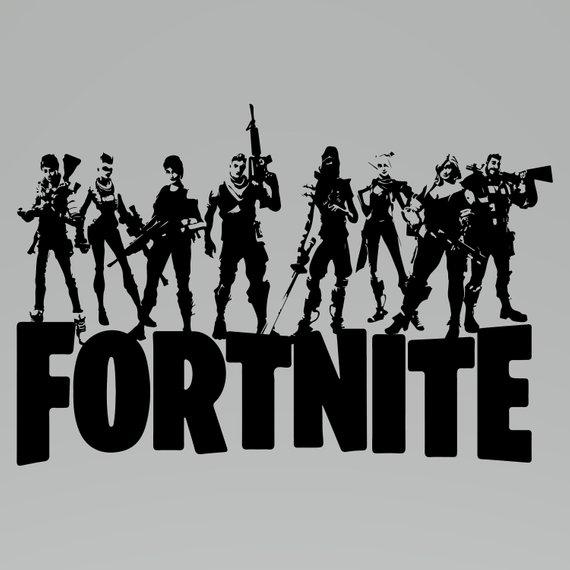 Fortnite SVG File ,Fortnite Svg, Fortnite Clipart, Fortnite Logo Svg.