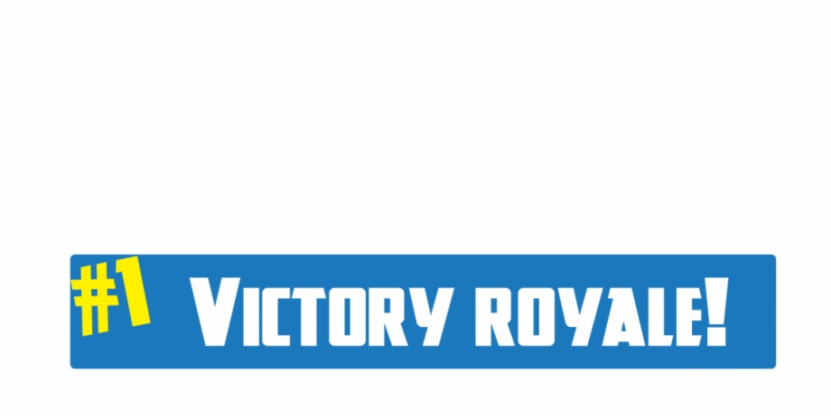 Fortnite Victory Royale Png.