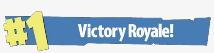 Fortnite 1 Victory Royale Png.