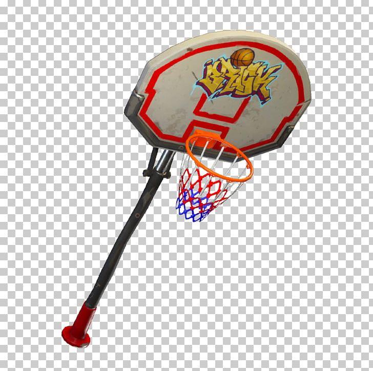 Fortnite Battle Royale Pickaxe Slam Dunk Basketball PNG.