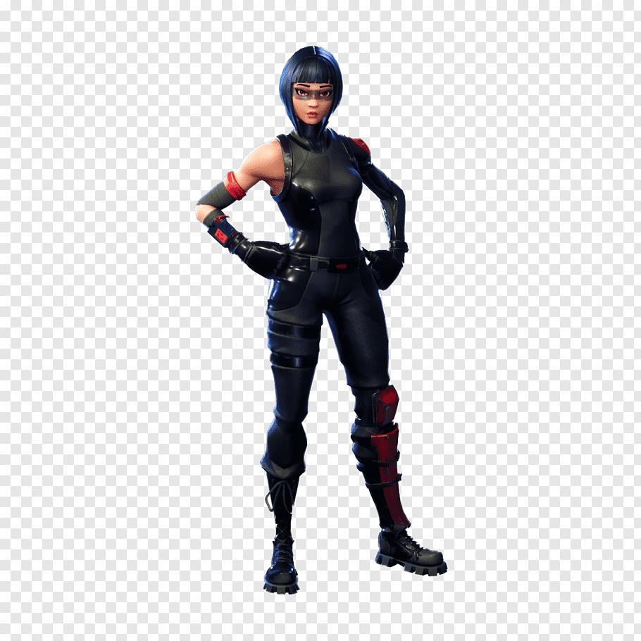 Fortnite female character action figure, Fortnite Battle.