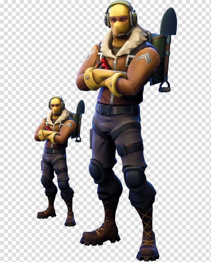 Fortnite character illustration, Fortnite Battle Royale.