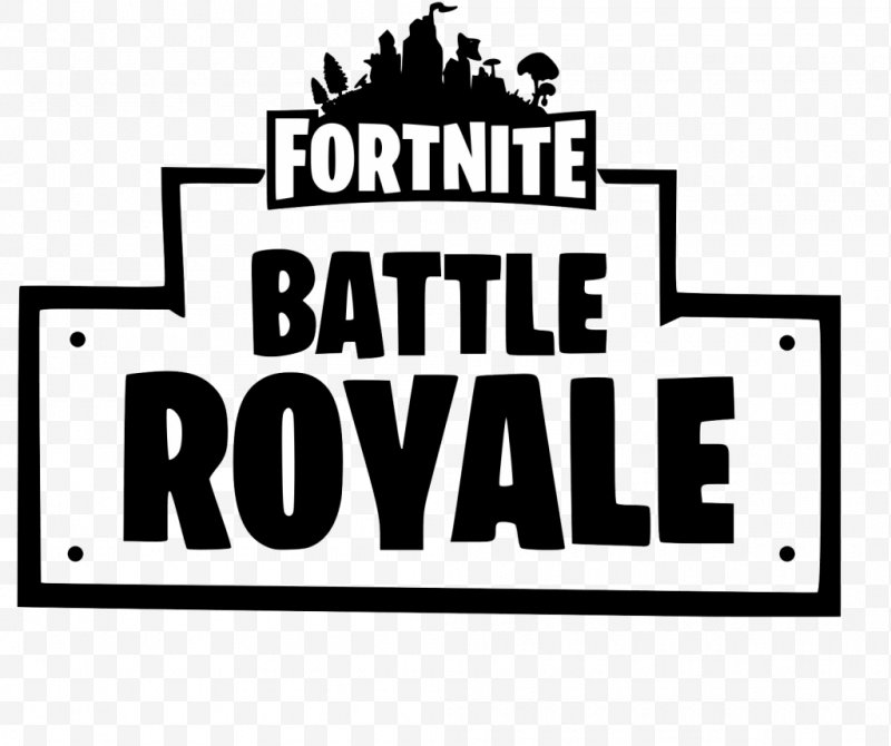 Fortnite Battle Royale Logo Battle Royale Game Font, PNG, 1024x858px.