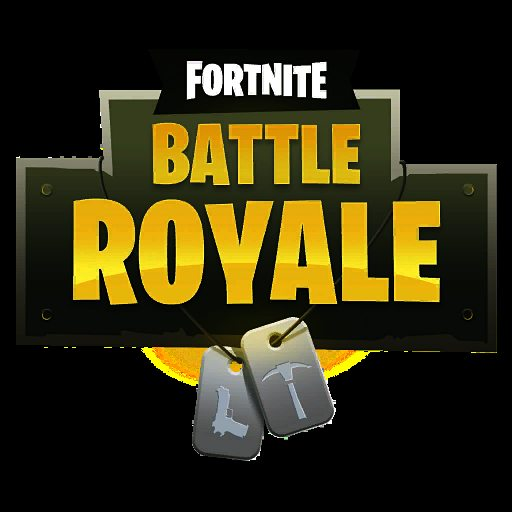 Fortnite battle royale Logo.