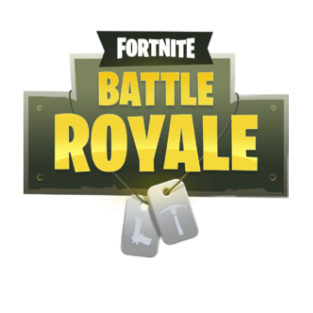 Fortnite battle royale logo png clipart images gallery for free.