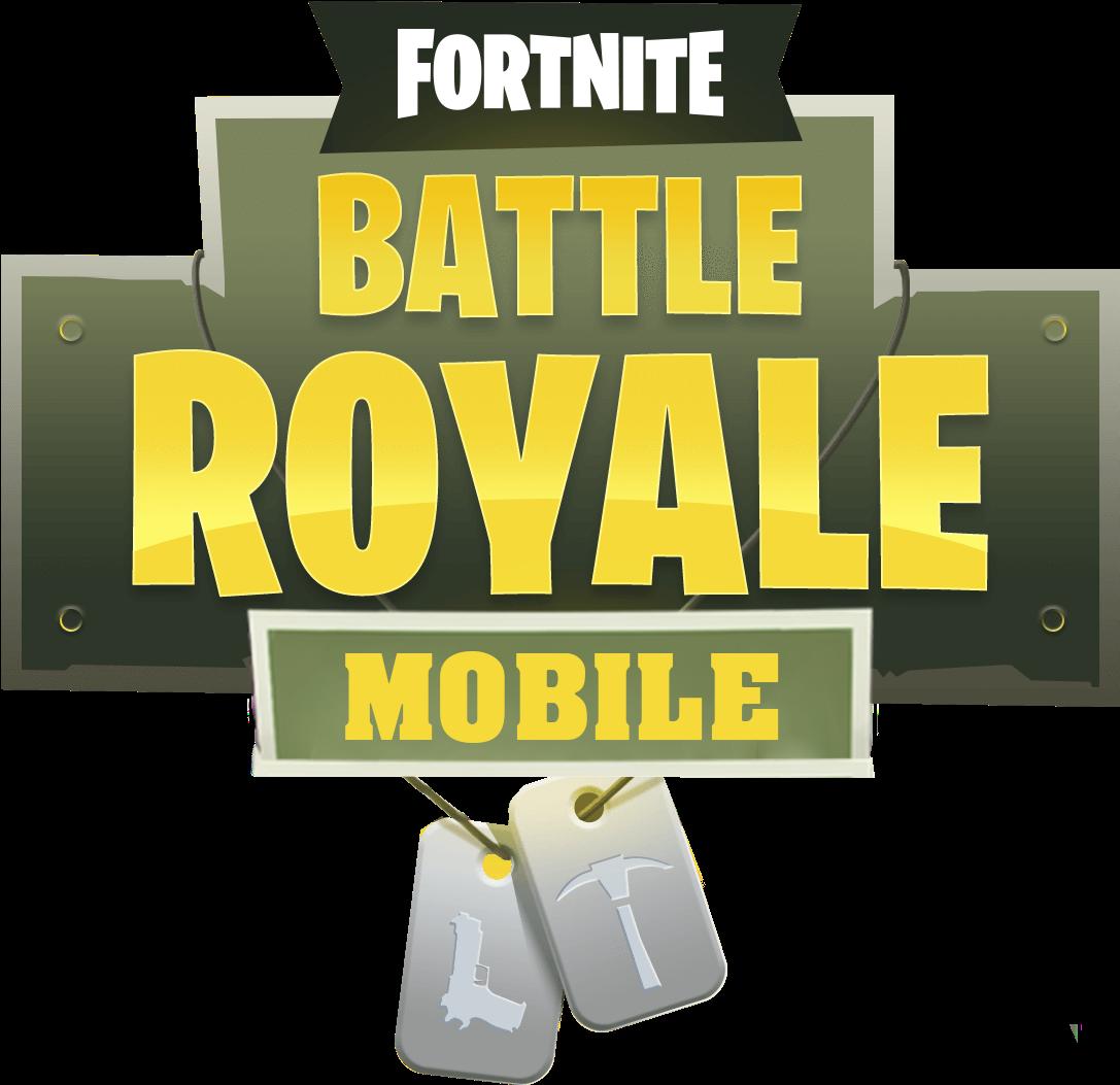 HD Fortnite Mobile Logo.