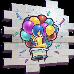 Happy Birthday! (spray).