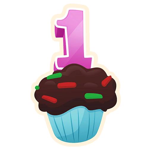 Fortnite Birthday! (emoticon).