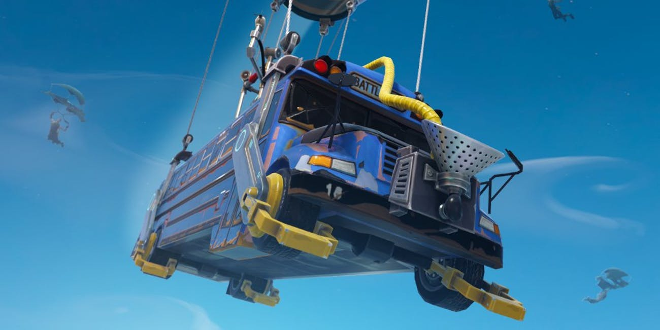 Science Explains the Impossible Physics of the 'Fortnite' Battle Bus.