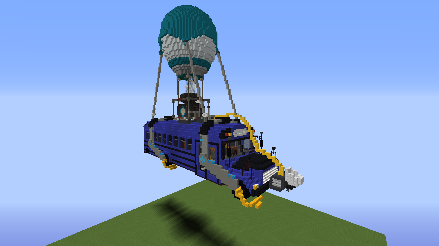 Fortnite Bus. should i make more Fortnite? this scale or 1:1 for a.