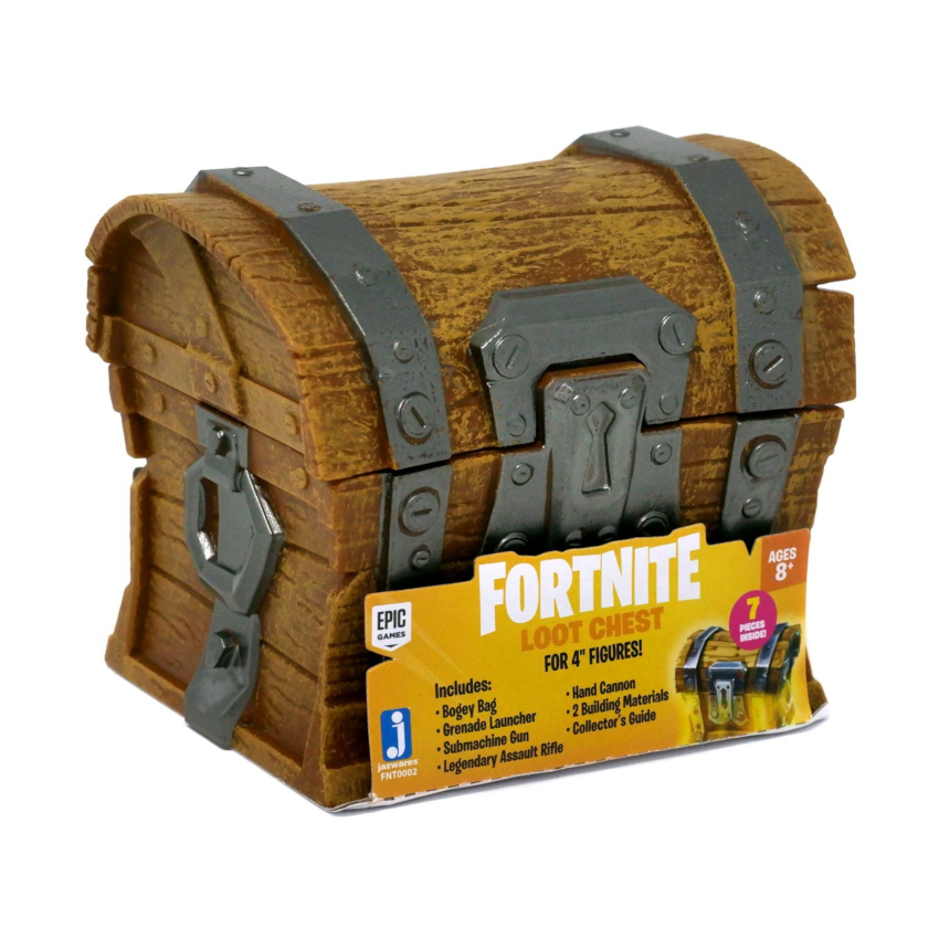 2 x Fortnite Loot Chest Accessory Set Assorted.