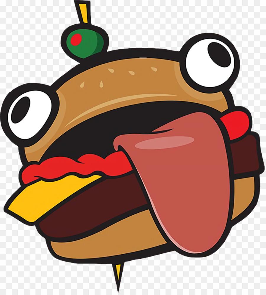 Durr Burger PNG Fortnite Hamburger Clipart download.