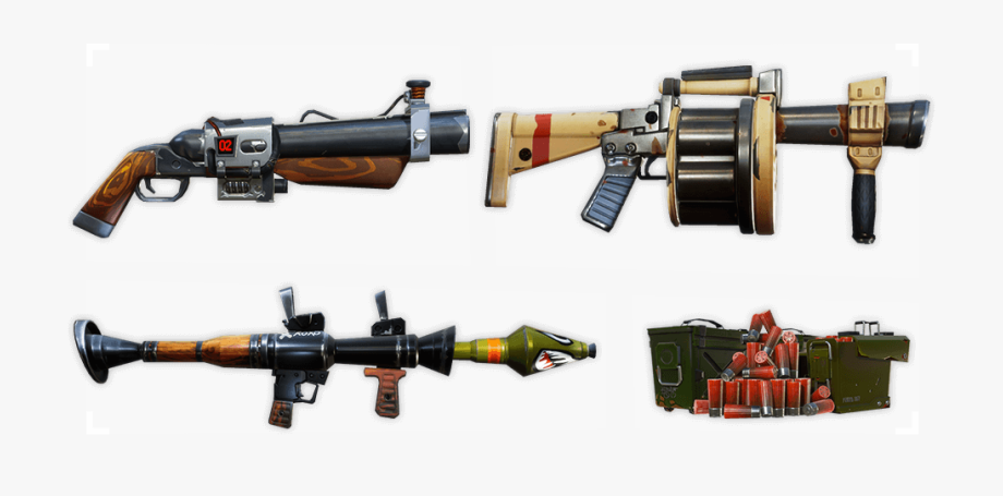 Guns Fortnite Transparent Png Clipart Free Download.