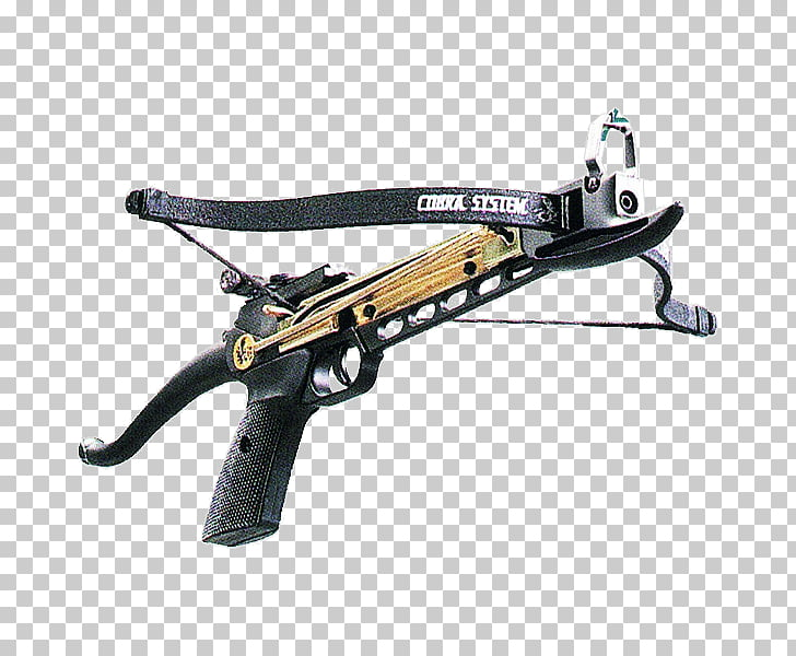 Crossbow bolt Hunting Weapon Pistol, weapon PNG clipart.