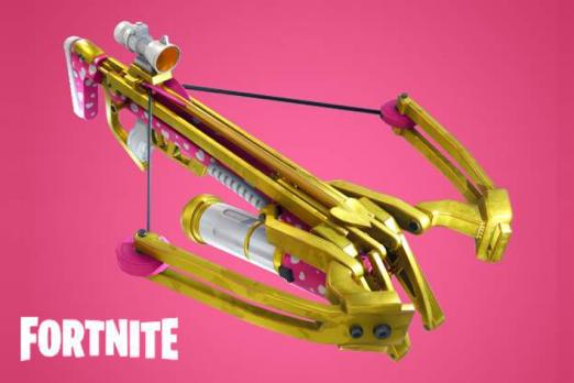 Fortnite Crossbow Damage & Stats From The Valentine's Update.