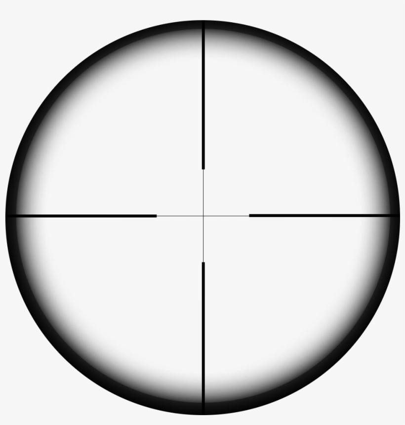 Sniper Crosshair Png Clipart.