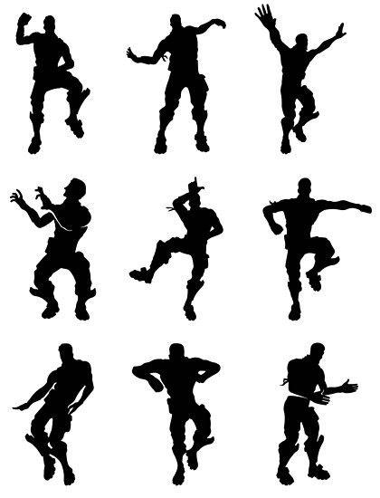 Fortnite dances en 2019.