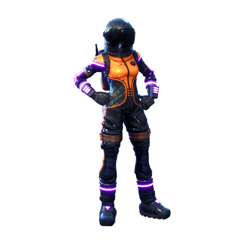 Fortnite Dark Vanguard PNG Image.