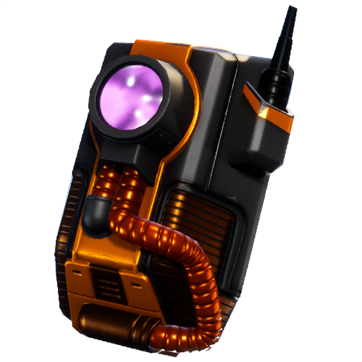 Legendary Dark Void Back Bling Fortnite Cosmetic Dark Vanguard.
