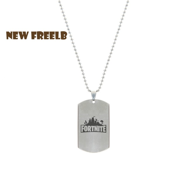Fortnite Stainless Necklace And Dog Tag.