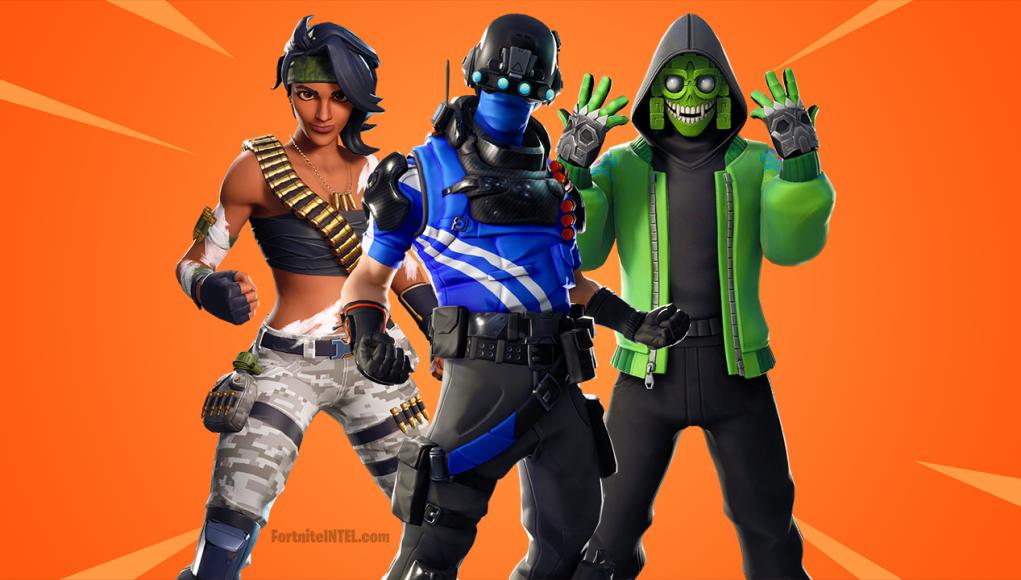 Fortnite Upcoming Skins 2019.