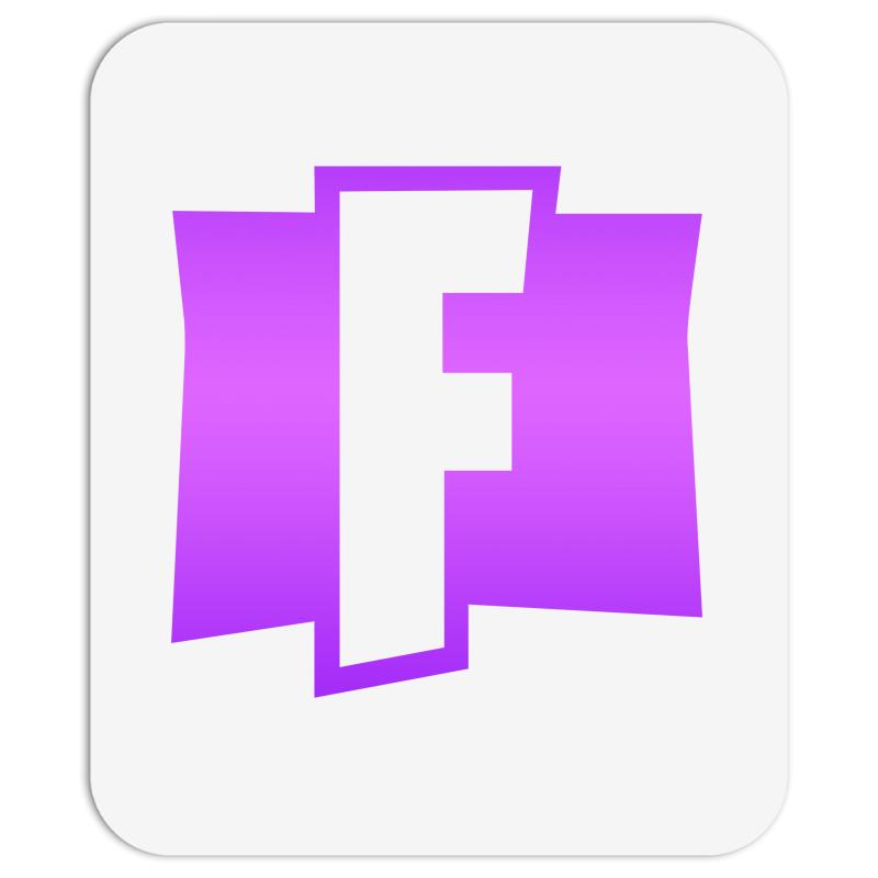 Fortnite F Logo Purple Mousepad. By Artistshot.