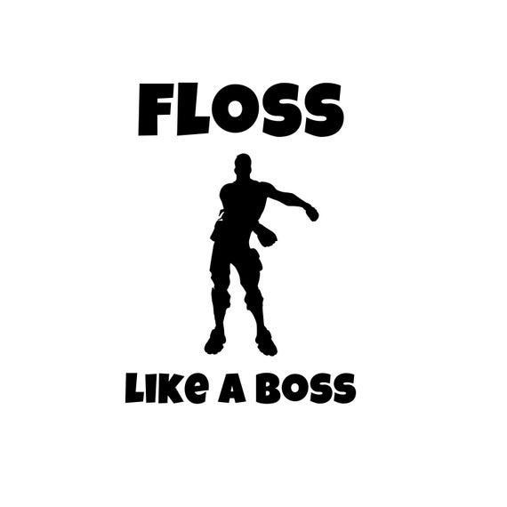 Fortnite Floss Silhouette.