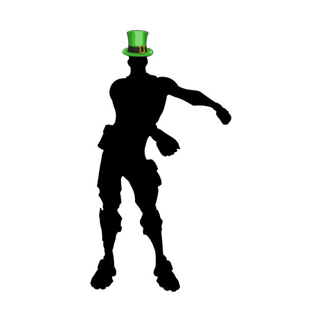 Fortnite Floss Dance St Patricks Day.