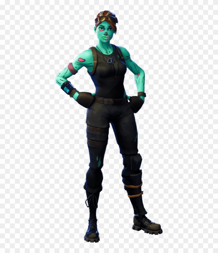 Fortnite Ghoul Trooper Png Image.