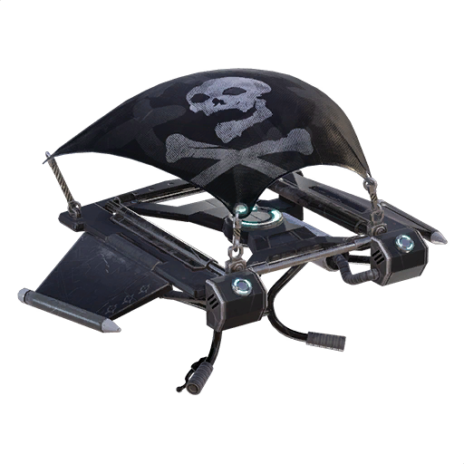 Uncommon Jolly Roger Glider Fortnite Cosmetic Cost 500 V.