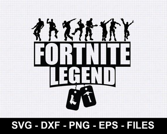 Fornite Legend SVG, Fortnite Logo SVG, svg file, dxf file.