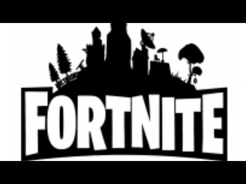 How to draw a Fortnite Battle Royale logo.