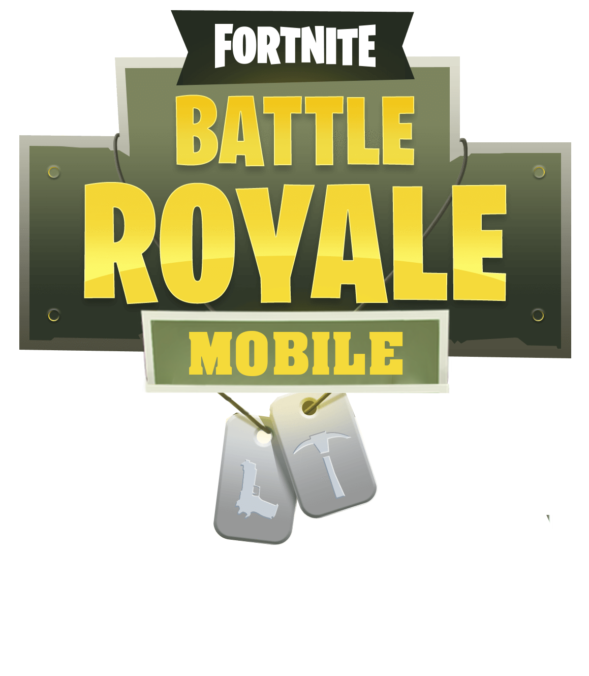 Download Fortnite Mobile Logo PNG Image for Free.