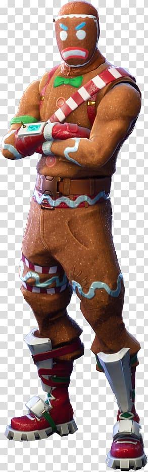 Fortnite Ginger Bread Man character, Fortnite Battle Royale.