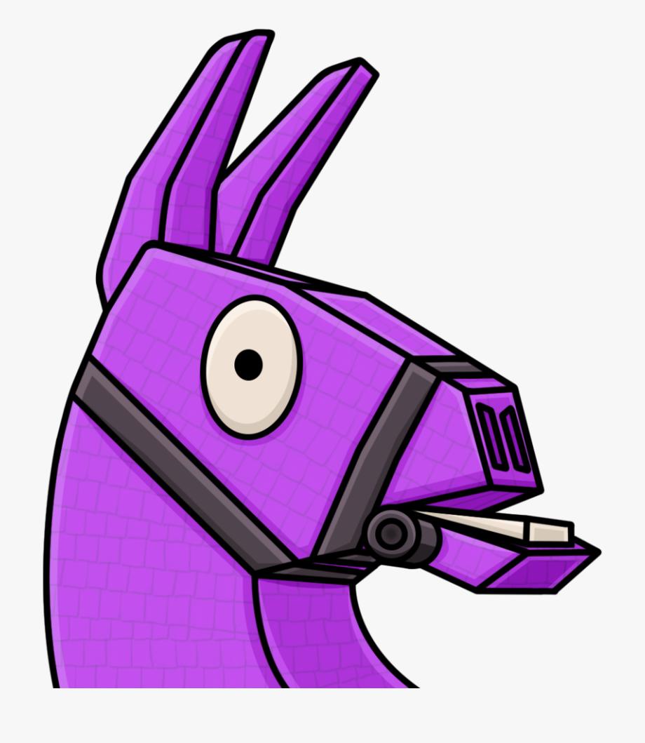 Llama Clipart Fortnite.