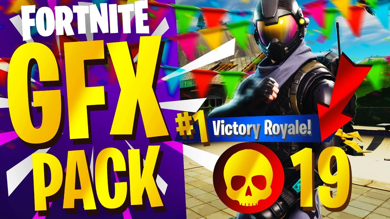 NEW FREE FORTNITE GFX PACK INCLUDES PNGs, IMAGES & MORE!.