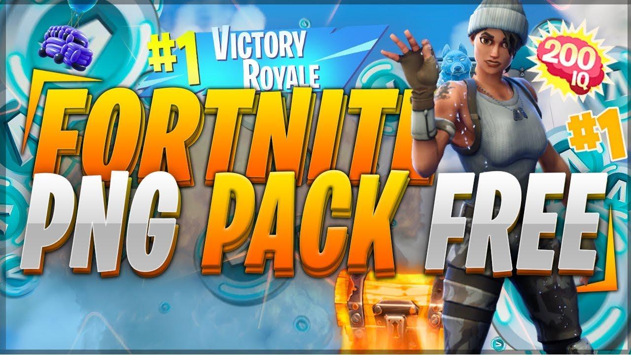 Fortnite PNG Pack (ULTIMATE).