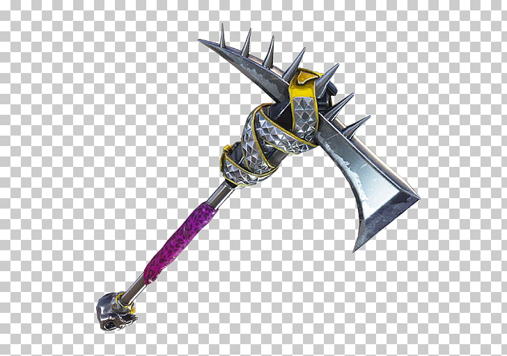 Fortnite Battle Royale Pickaxe Epic Games, Axe PNG clipart.