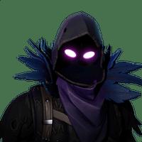 Fortnite Raven Skin.