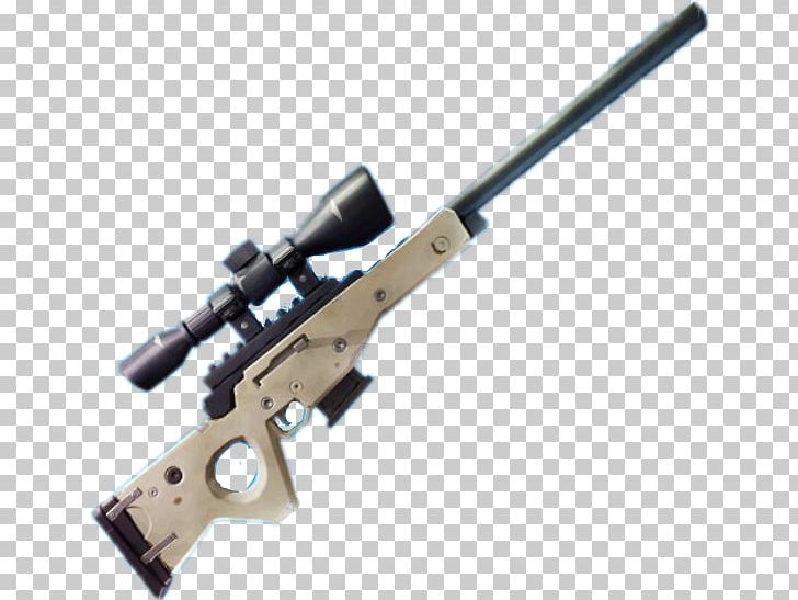 Trigger Fortnite Battle Royale Sniper Rifle Firearm PNG.