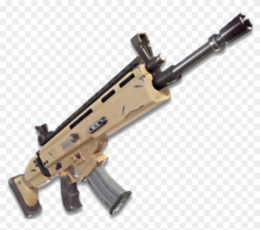 fortnite #fortnitegun #gun #scar.