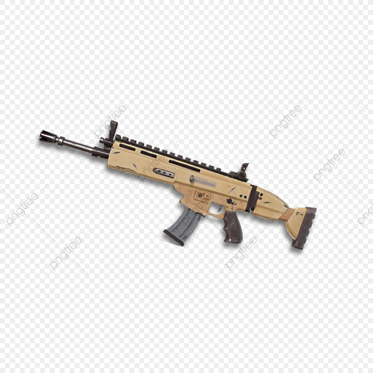 Scar, Fortnite, Pc Game PNG and Vector with Transparent Background.