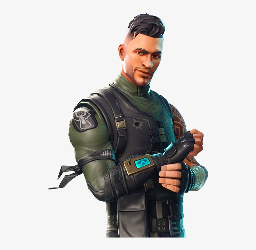 Fortnite Season 4 Squad Leader.