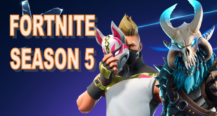 Fortnite Season 5 is HERE.